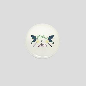 Make a wish Mini Button