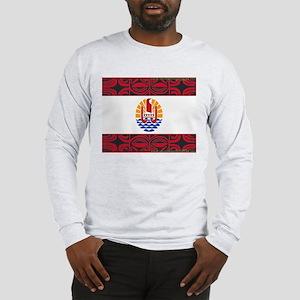 tahiti pride Long Sleeve T-Shirt