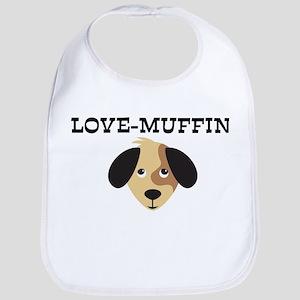 LOVE-MUFFIN (dog) Bib