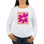 Pink Flower Women's Long Sleeve T-Shirt