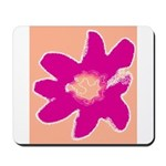 Pink Flower Mousepad