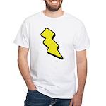 Lightning Bolt White T-Shirt