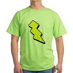Lightning Bolt Green T-Shirt