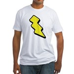 Lightning Bolt Fitted T-Shirt