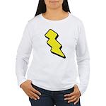 Lightning Bolt Women's Long Sleeve T-Shirt