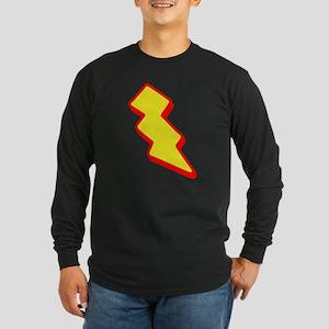 Lightning Bolt Long Sleeve Dark T-Shirt
