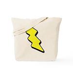 Lightning Bolt Tote Bag