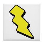 Lightning Bolt Tile Coaster