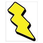 Lightning Bolt Small Poster
