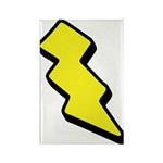 Lightning Bolt Rectangle Magnet (10 pack)