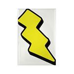 Lightning Bolt Rectangle Magnet (100 pack)