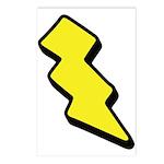 Lightning Bolt Postcards (Package of 8)
