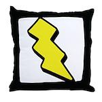 Lightning Bolt Throw Pillow