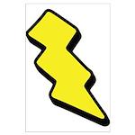 Lightning Bolt Large Poster