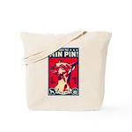 Obey the Min Pin! USA Tote Bag