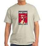 Obey the Min Pin! USA 2-sided light T-Shirt