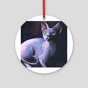 Sphynx Cat #13  Keepsake (Round)