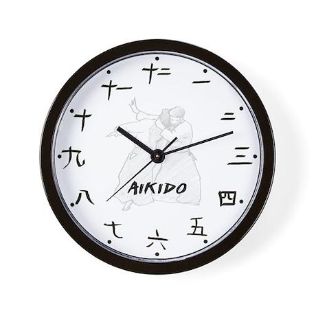 Aikido Wall Clock