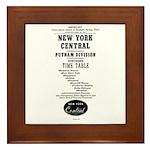 NYC Putnam Division Framed Tile