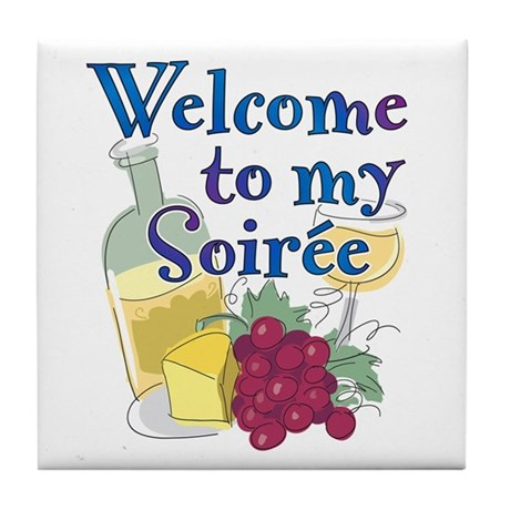 Welcome to my Soiree Tile Coaster
