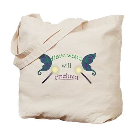 Have wand, will enchant Tote Bag