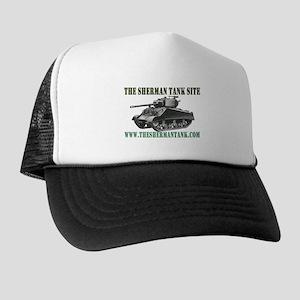 Sherman Tank Site Trucker Hat