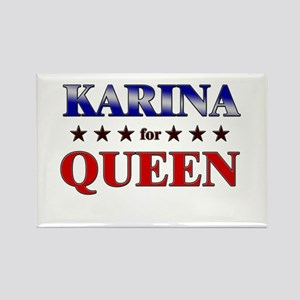 KARINA for queen Rectangle Magnet