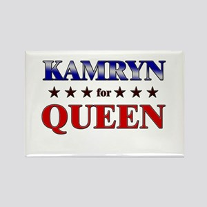KAMRYN for queen Rectangle Magnet
