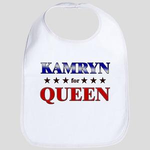 KAMRYN for queen Bib