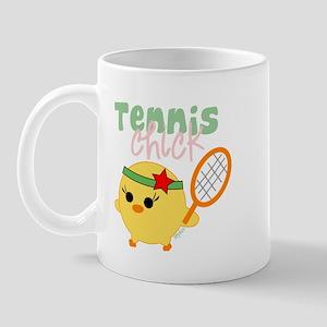 Tennis Chick Mug