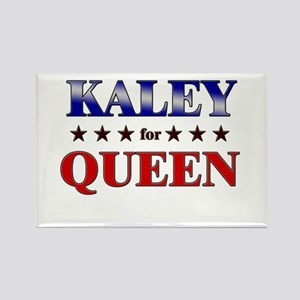 KALEY for queen Rectangle Magnet