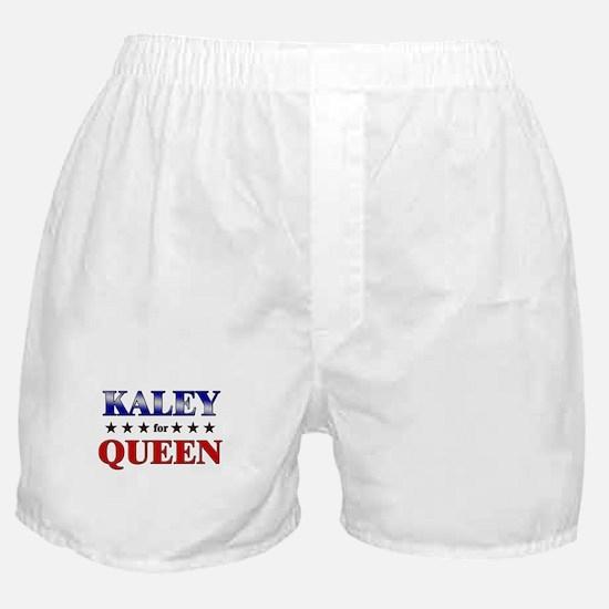 KALEY for queen Boxer Shorts