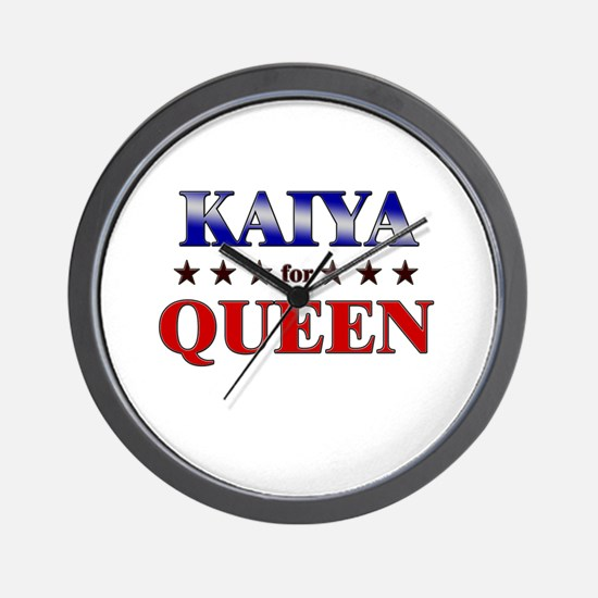 KAIYA for queen Wall Clock