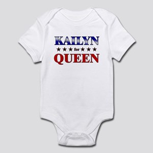 KAILYN for queen Infant Bodysuit