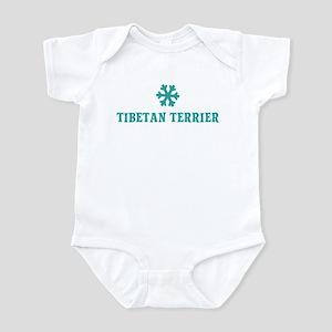 TIBETAN TERRIER Snowflake Infant Bodysuit