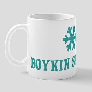BOYKIN SPANIEL Snowflake Mug