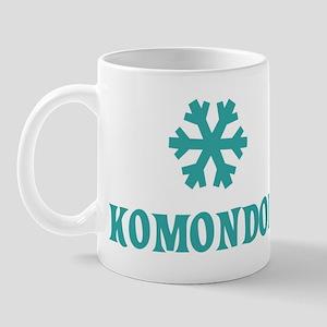 KOMONDOR Snowflake Mug