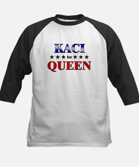 KACI for queen Kids Baseball Jersey