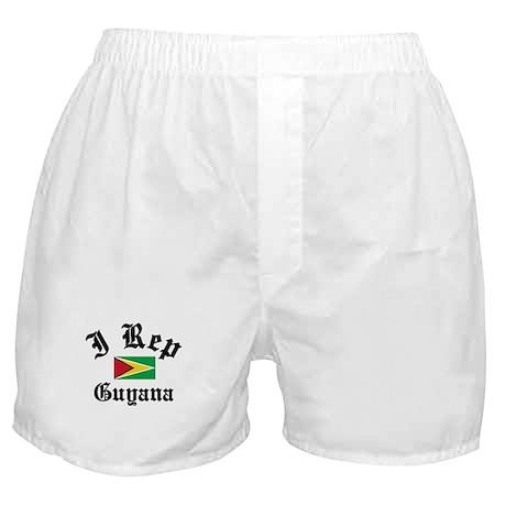 I rep Guyana Boxer Shorts