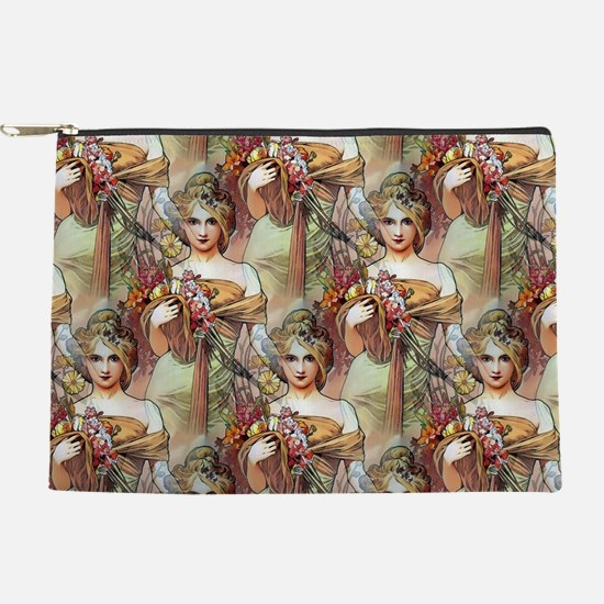 Alfons Mucha 1900 The Seasons Spring Makeup Bag