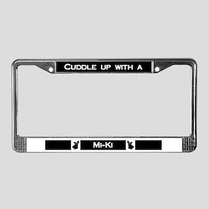 miki License Plate Frame