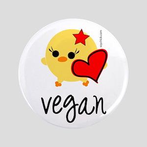 "Vegan Love 3.5"" Button"