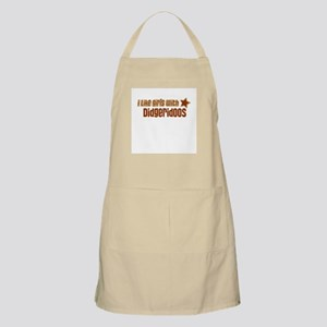 I Like Girls with Didgeridoos BBQ Apron