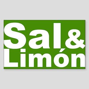 Sal & Limon Rectangle Sticker