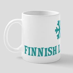 FINNISH LAPPHUND Snowflake Mug