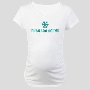 PHARAOH HOUND Snowflake Maternity T-Shirt