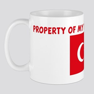 PROPERTY OF MY TURKISH BOYFRI Mug
