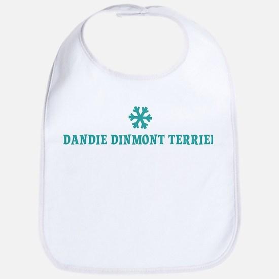 DANDIE DINMONT TERRIER Snowfl Bib