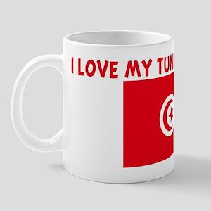 I LOVE MY TUNISIAN UNCLE Mug