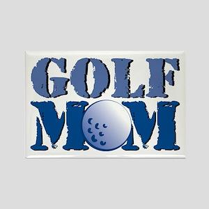 Golf Mom Rectangle Magnet